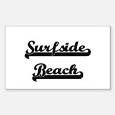 Surfside Beach Classic Retro Design Decal