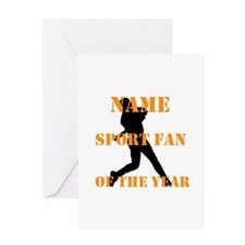 Sport Fan Baseball Hobby Greeting Cards