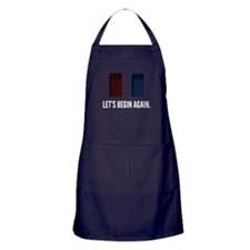 The Stanley Parable: Let's Begin Agai Apron (dark)