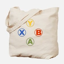 Xbox Buttons Tote Bag