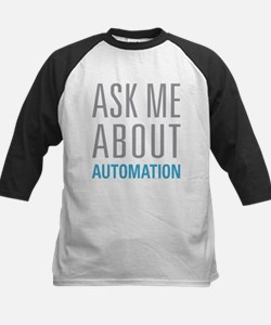 Ask Me Automation Baseball Jersey