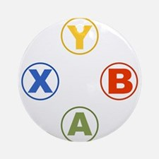 Xbox Buttons Ornament (Round)