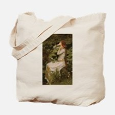 Ophelia by JW Waterhouse Tote Bag