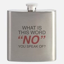 What Is This Word No Flask