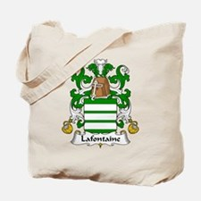 Lafontaine Family Crest  Tote Bag