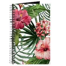 Cute Hawaiian flowers Journal
