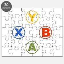 Xbox Buttons Puzzle