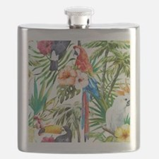 Cool Parrot Flask