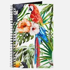 Cute Tropical bird Journal