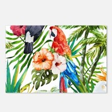 Cute Parrot Postcards (Package of 8)