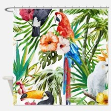 Cute Beach house Shower Curtain