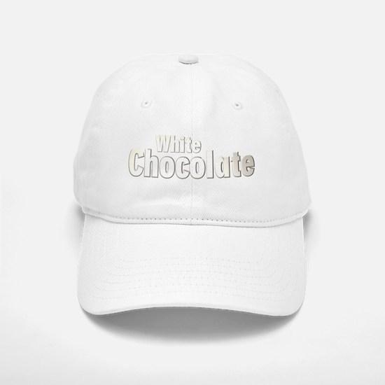 White Chocolate Baseball Baseball Cap