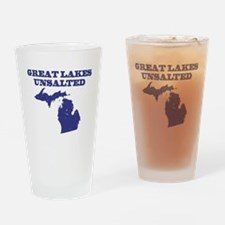 Great Lakes Unsalted Drinking Glass