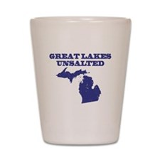 Great Lakes Unsalted Shot Glass