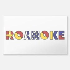 Nautical Roanoke Decal