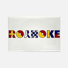Nautical Roanoke Magnets