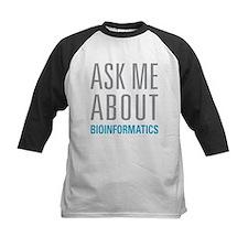 Ask Me Bioinformatics Baseball Jersey