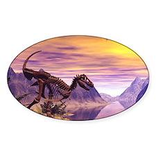 Dinosaur Skeleton Decal