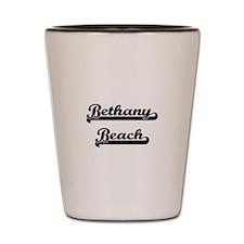 Bethany Beach Classic Retro Design Shot Glass