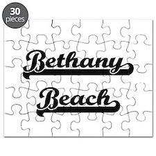 Bethany Beach Classic Retro Design Puzzle