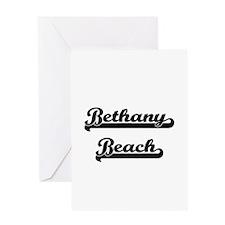 Bethany Beach Classic Retro Design Greeting Cards