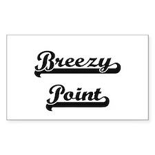 Breezy Point Classic Retro Design Decal