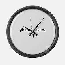 Bridgehampton Club Classic Retro Large Wall Clock