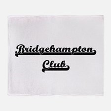 Bridgehampton Club Classic Retro Des Throw Blanket