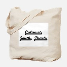 Calumet South Beach Classic Retro Design Tote Bag