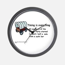 Timing Is Everything Wall Clock