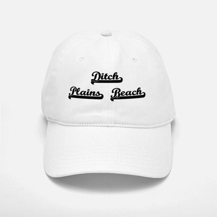 Ditch Plains Beach Classic Retro Design Baseball Baseball Cap