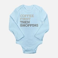 Coffee Then Shopping Body Suit