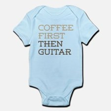 Coffee Then Guitar Body Suit