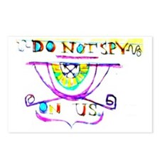 Do Not Spy On Us Postcards (Package of 8)