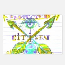 Protected Citizen Postcards (Package of 8)