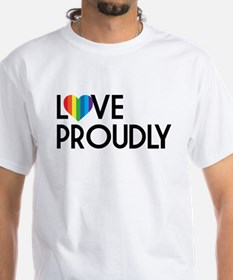 Queer as Folk: Love Proudly Shirt