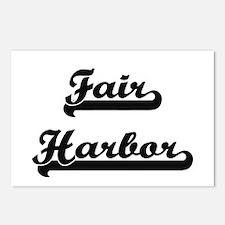 Fair Harbor Classic Retro Postcards (Package of 8)