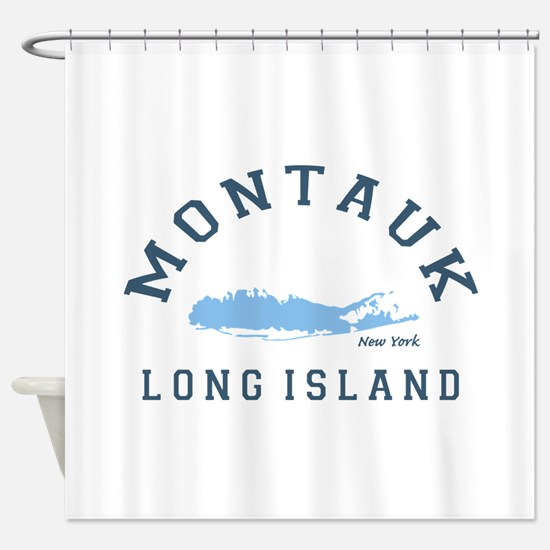 Montauk - Long Island. Shower Curtain