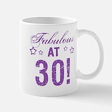 Fabulous 30th Birthday Mug