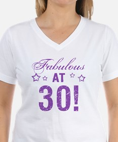 Fabulous 30th Birthday Shirt