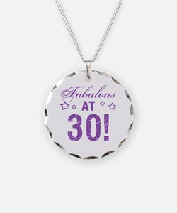 Fabulous 30th Birthday Necklace