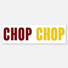 Tomahawk Chop Bumper Bumper Bumper Sticker