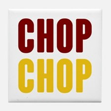 Tomahawk Chop Tile Coaster