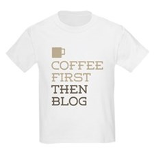 Coffee Then Blog T-Shirt