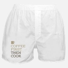 Coffee Then Cook Boxer Shorts