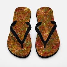 leaves changing Flip Flops