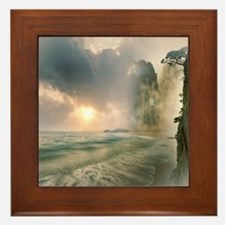 Cute Mystical Framed Tile