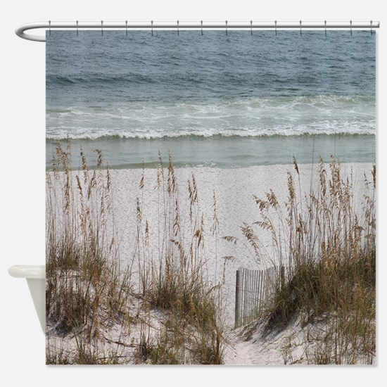 Sandy Beach Shower Curtain