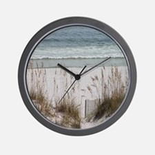 Sandy Beach Wall Clock
