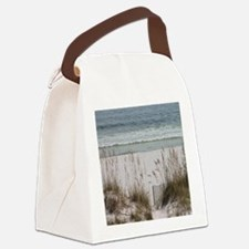 Sandy Beach Canvas Lunch Bag